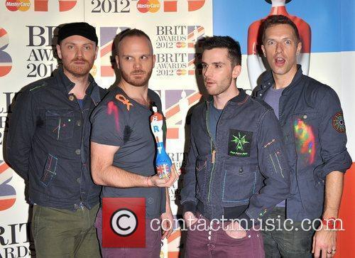 Coldplay and Brit Awards 2