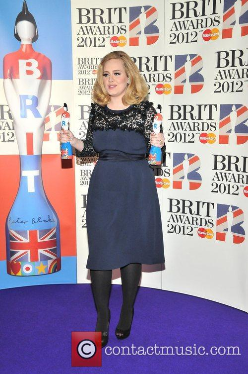 Adele and Brit Awards 4