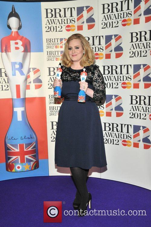 Adele and Brit Awards 6
