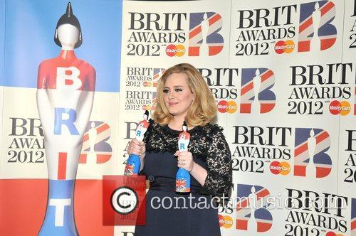 Adele and Brit Awards 10