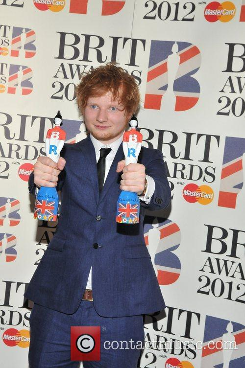 Ed Sheeran and Brit Awards 6