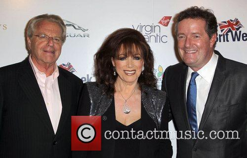Jerry Springer, Jackie Collins and Piers Morgan 5