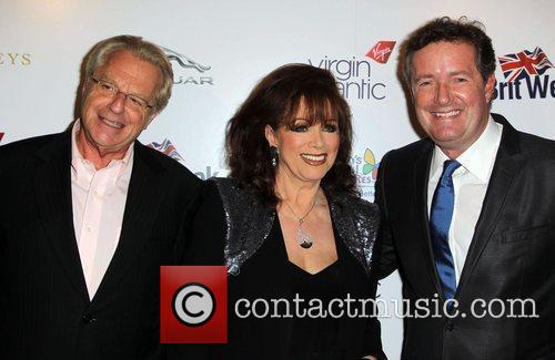 Jerry Springer, Jackie Collins and Piers Morgan 1