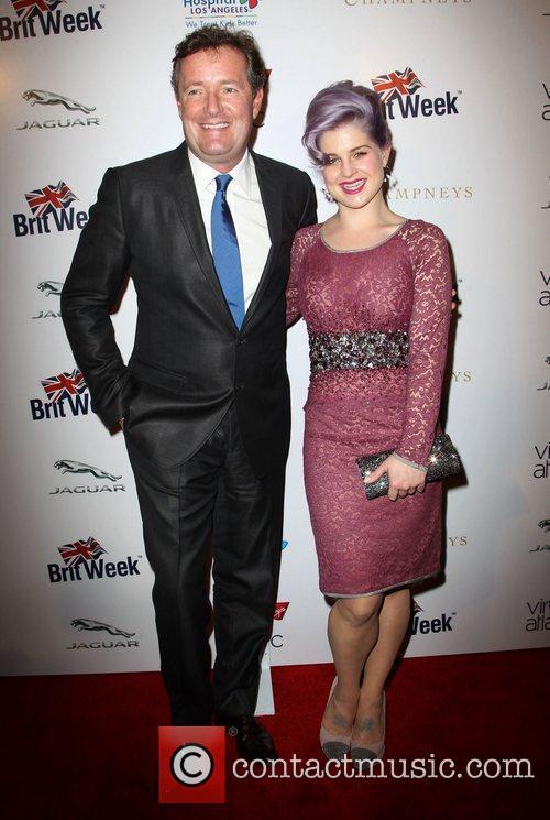 Piers Morgan and Kelly Osbourne 2