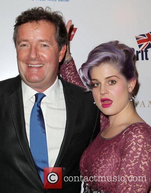 Piers Morgan and Kelly Osbourne 3