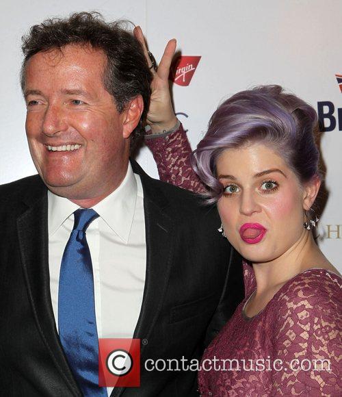 Piers Morgan and Kelly Osbourne 4