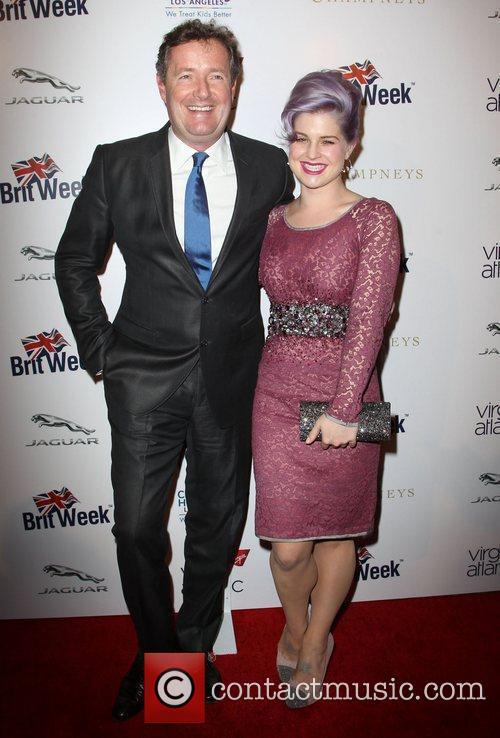 Piers Morgan and Kelly Osbourne 5
