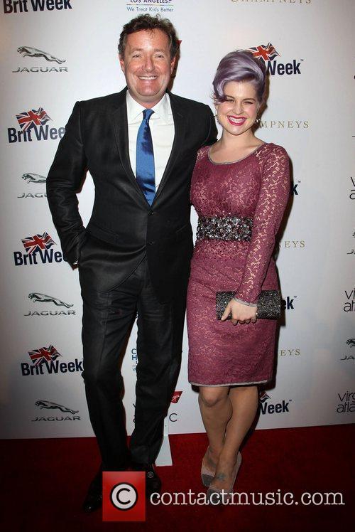 Piers Morgan and Kelly Osbourne 1