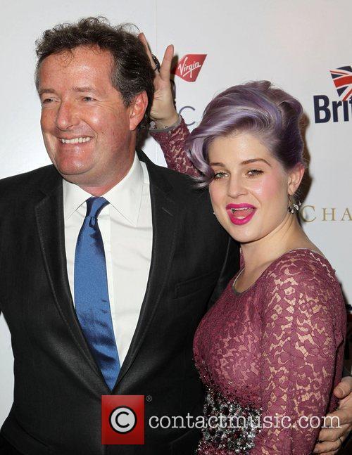 Piers Morgan and Kelly Osbourne 6
