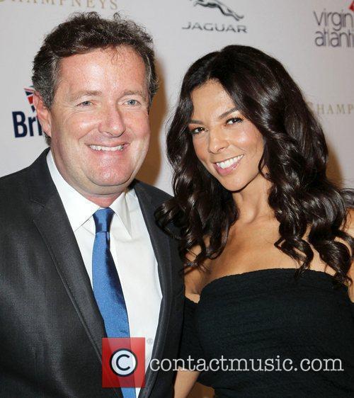 Piers Morgan, Terri Seymour Britweek 2012 Gala hosted...