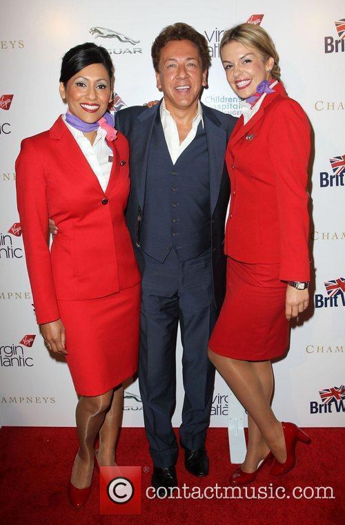 Ross King and Virgin Atlantic flight attendants Britweek...