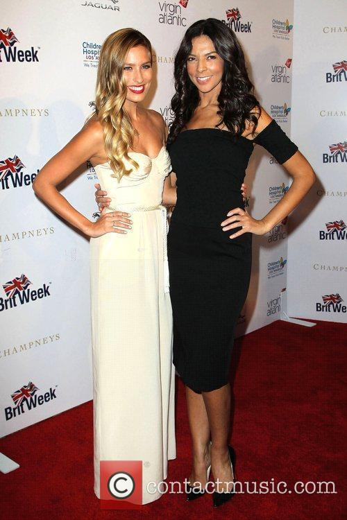 Renee Bargh, Terry Seymour BritWeek 2012 Gala hosted...