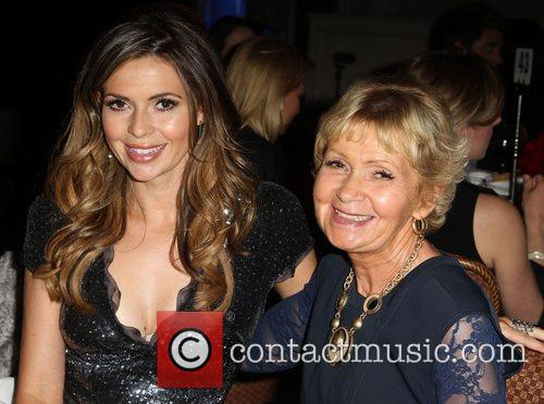 Carly Steel and her mother BritWeek 2012 Gala...