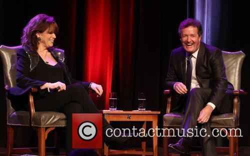Jackie Collins and Piers Morgan 2