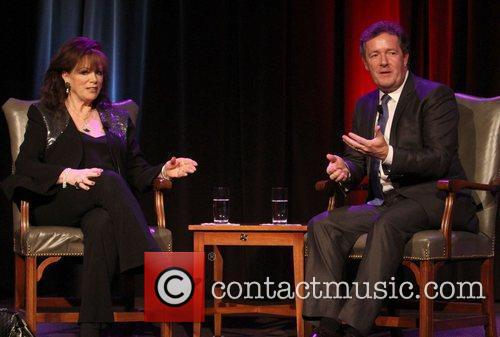 Jackie Collins and Piers Morgan 7