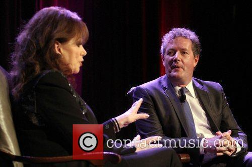 Jackie Collins and Piers Morgan 8