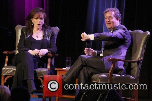 Jackie Collins and Piers Morgan 9