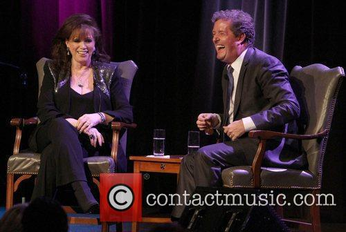 Jackie Collins and Piers Morgan 10