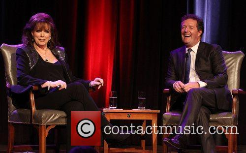 Jackie Collins and Piers Morgan 12