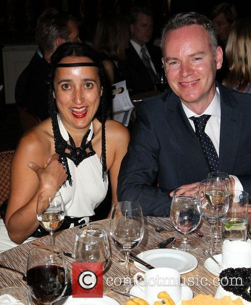 Julia Clancey and Guest BritWeek 2012 Gala hosted...