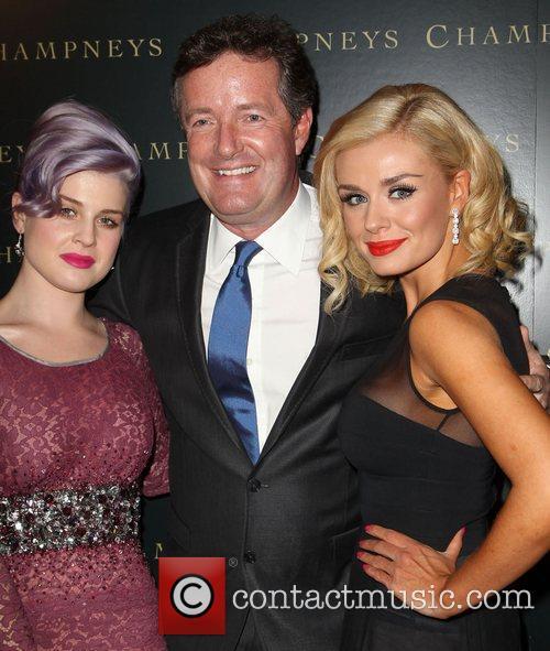 Kelly Osbourne, Piers Morgan, Katherine Jenkins BritWeek 2012...