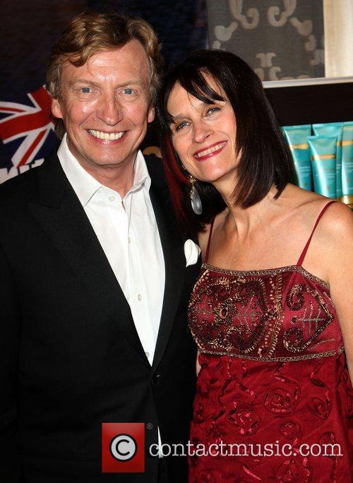 Nigel Lythgoe, Sharon Harroun BritWeek 2012 Gala hosted...