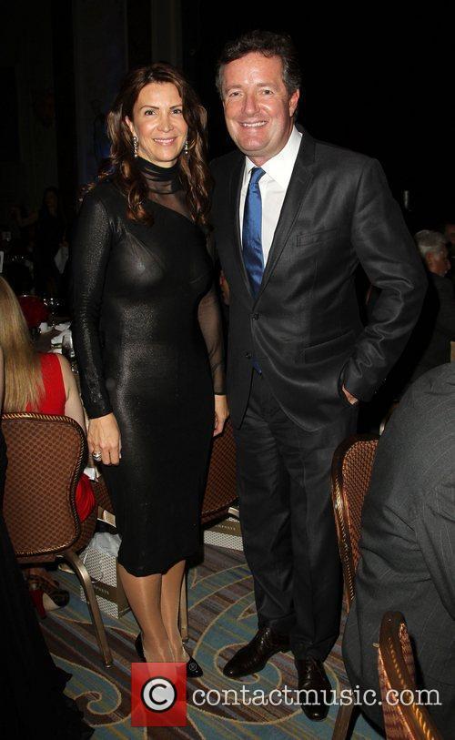 Piers Morgan and Guest BritWeek 2012 Gala hosted...