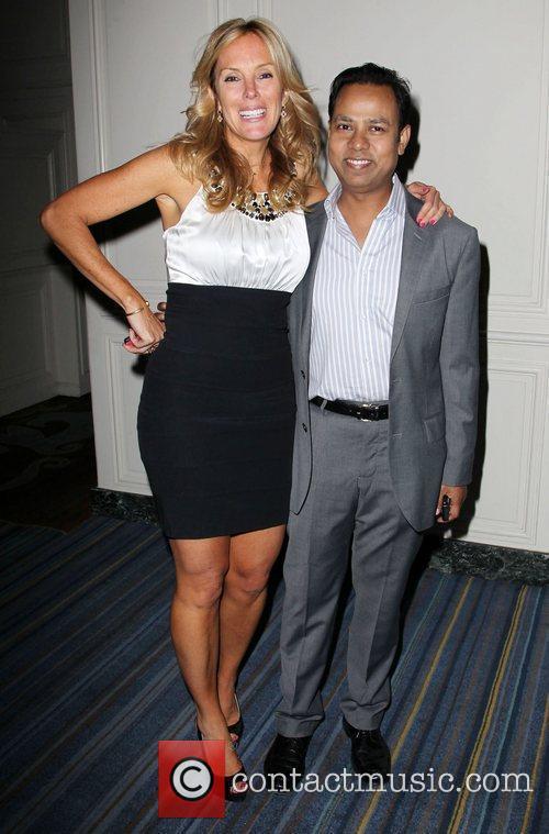 Sarah Robarts and Munawar Hosain BritWeek 2012 Gala...