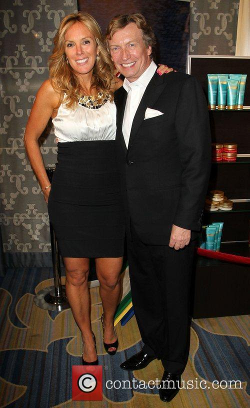 Sarah Robarts and Nigel Lythgoe BritWeek 2012 Gala...