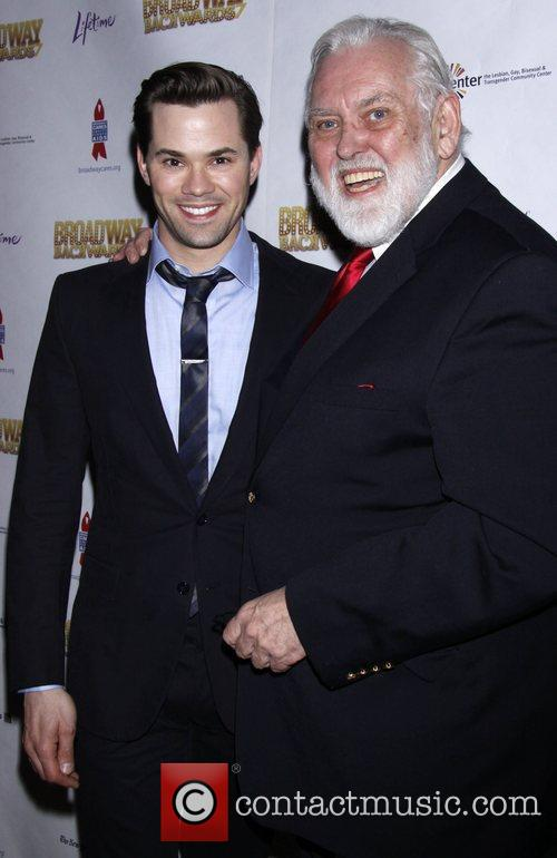 Andrew Rannells and Jim Brochu After party for...