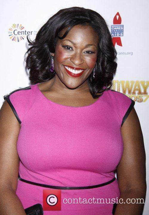 Cicily Daniels After party for Broadway Backwards 7...
