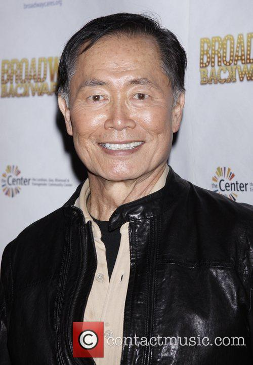 George Takei After party for Broadway Backwards 7...
