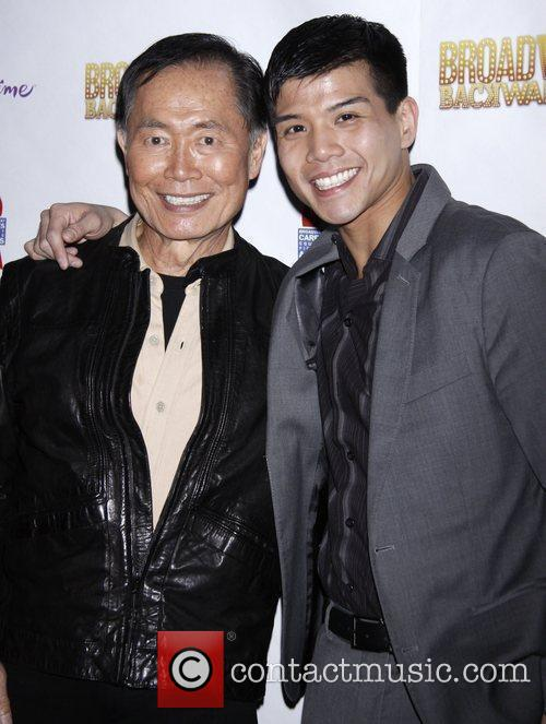 George Takei and Telly Leung After party for...