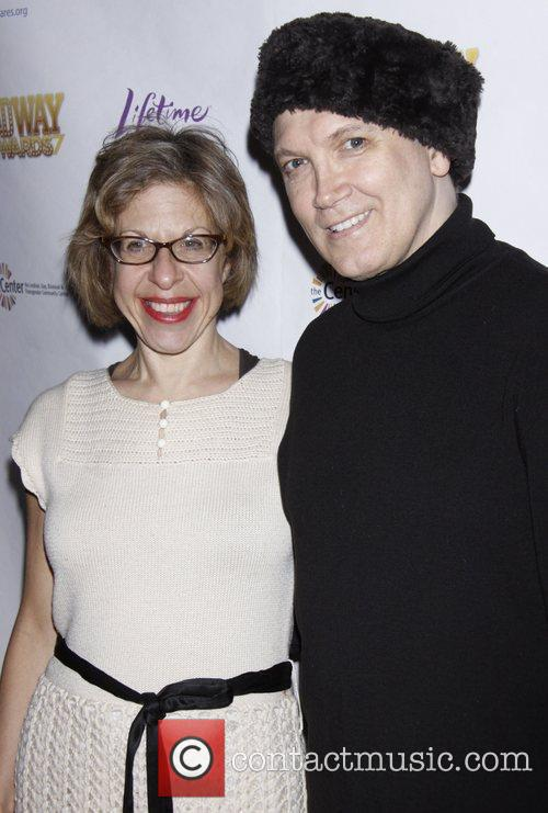 Jackie Hoffman and Charles Busch After party for...