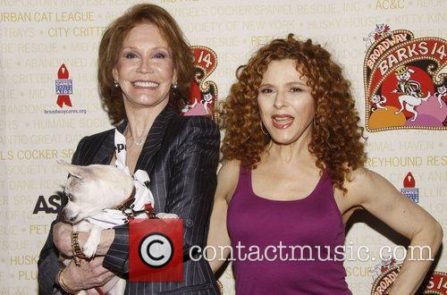 Mary Tyler Moore and Bernadette Peters 4