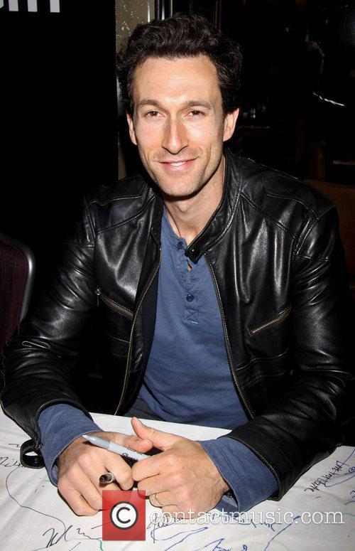 Aaron Lazar attending the 26th Broadway Cares Flea...
