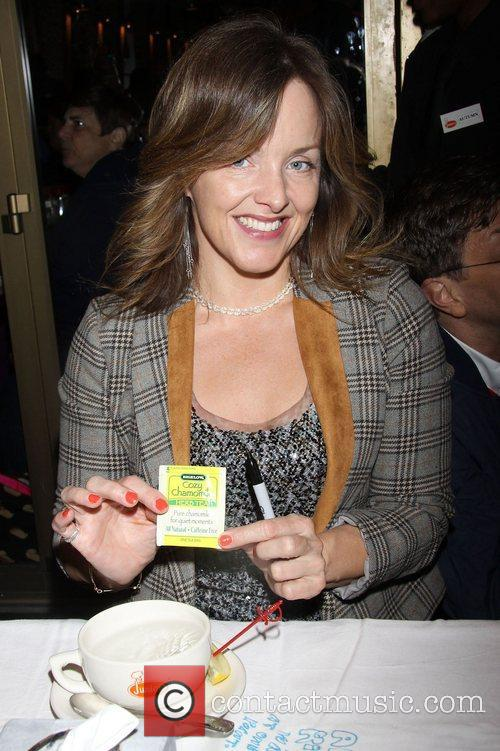 Alice Ripley attending the 26th Broadway Cares Flea...