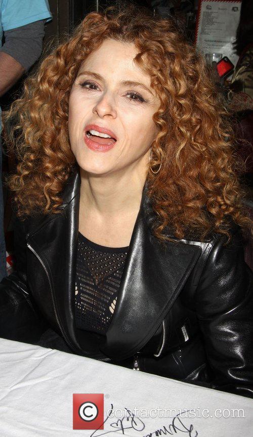 Bernadette Peters attending the 26th Broadway Cares Flea...