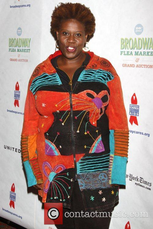 Attending the 26th Broadway Cares Flea Market held...