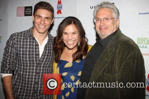 Derek Klena, Lindsay Mendez and Harvey Fierstein 1