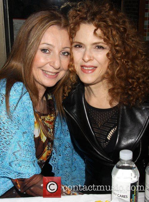 Donna Murphy and Bernadette Peters