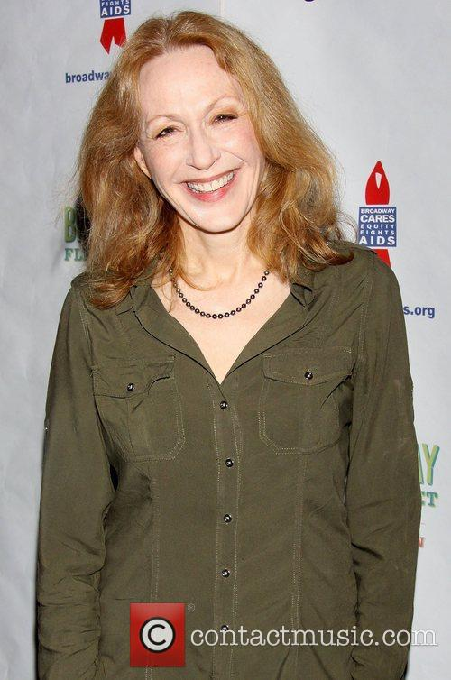 Jan Maxwell attending the 26th Broadway Cares Flea...