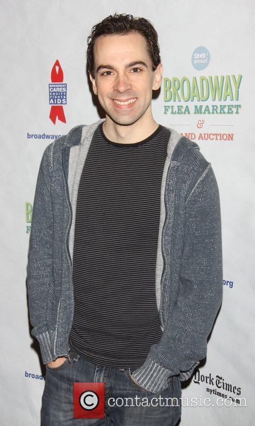 Rob McClure attending the 26th Broadway Cares Flea...