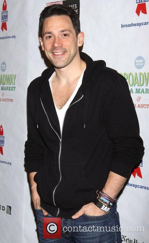 Steve Kazee  attending the 26th Broadway Cares...