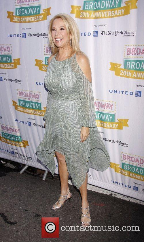 Kathie Lee Gifford and Times Square 8