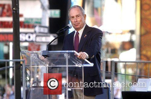 Mayor Michael Bloomberg and Times Square 2