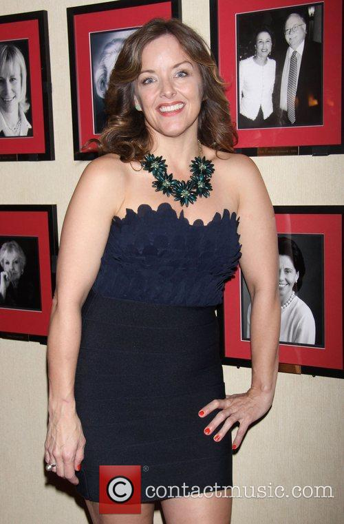 Alice Ripley  attending the post show reception...