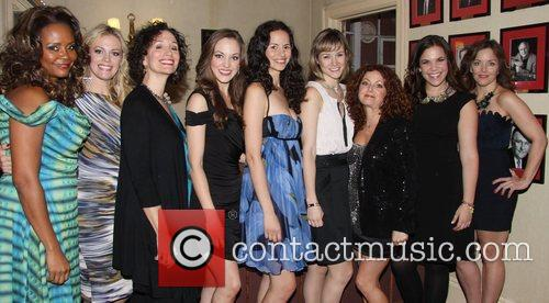 Tonya Pinkins, Elizabeth Stanley, Barbara Walsh, Laura Osnes, Mandy Gonzalez, Jill Paice, Lindsay Mendez and Alice Ripley 1