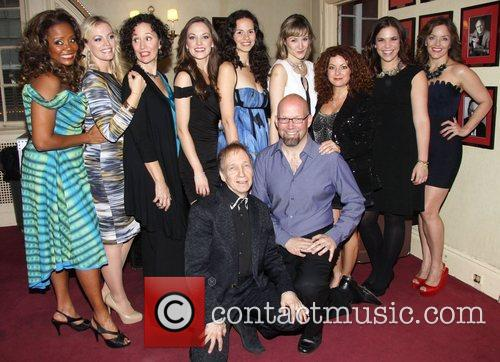 Tonya Pinkins, Elizabeth Stanley, Barbara Walsh, Laura Osnes, Mandy Gonzalez, Jill Paice, Lindsay Mendez, Alice Ripley, Scott Siegel and Scott Coulter 4