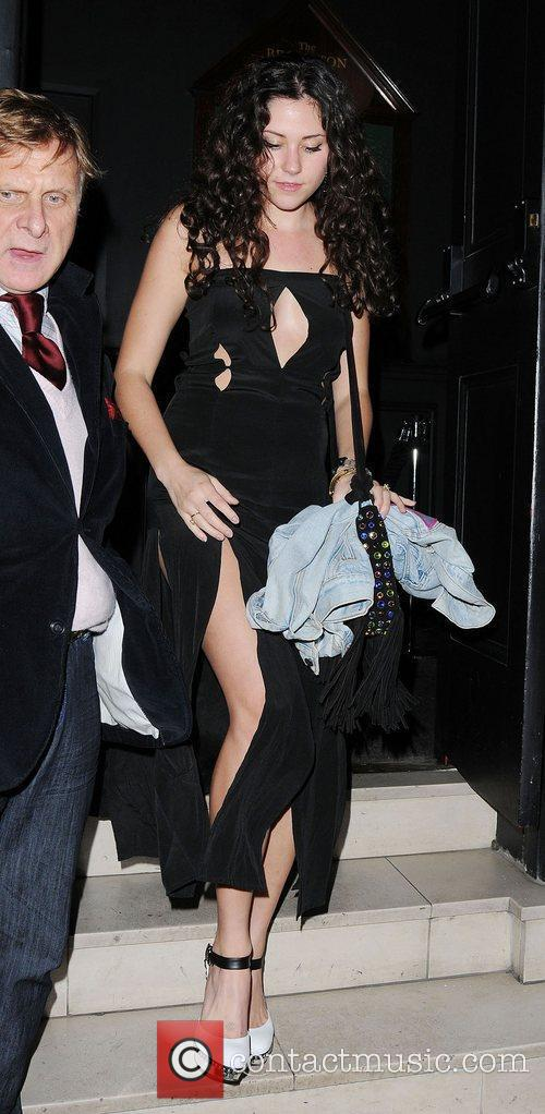 Eliza Doolittle at the launch of The Lion...